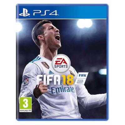 FIFA 18 PS4 ITALIANO VIDEOGIOCO PLAYSTATION 4 GIOCO PAL STANDARD EDITION FIFA