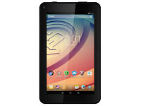 New Prestogio 7 Tablet Quad Core, 1GB, 8GB, Android 5.1, Black