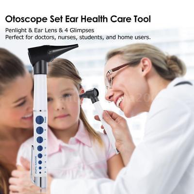 Medical Led Operating Otoscope Set Ent Diagnostic Kit Ear Speculum Tool L6d2
