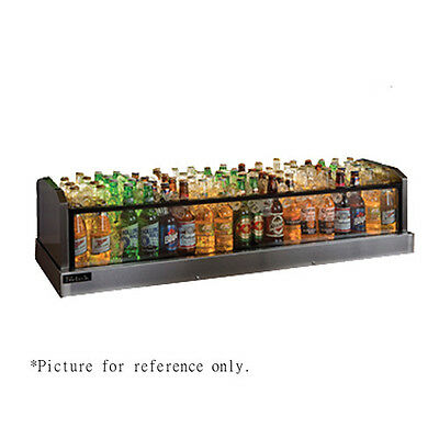 Perlick Gmds19x60 60 Glass Merchandiser Ice Display