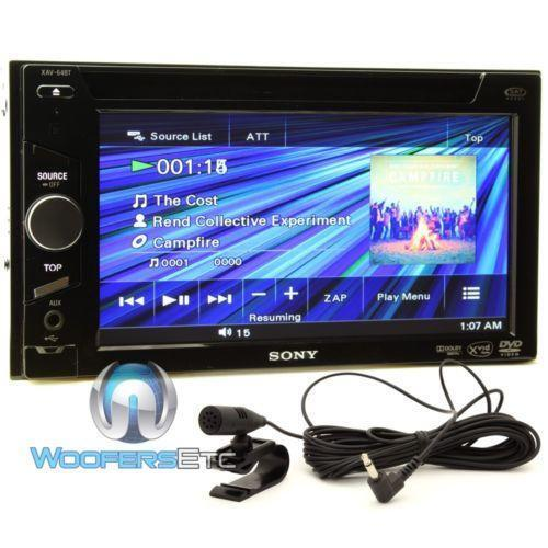 sony car dvd player ebay. Black Bedroom Furniture Sets. Home Design Ideas