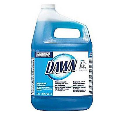 Proctor &gamble Dawn Manual Pot and Pan Dish Wash Detergent 1gal Liquid | 4/Case Gamble Dawn Dishwashing Liquid