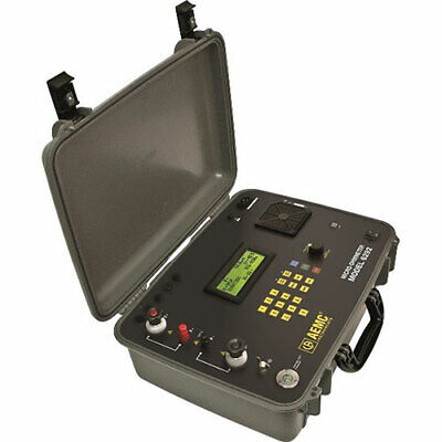Aemc 6292 Micro-ohmmeter 200a Dataview Software With Cooling System