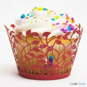 Ivory Cupcake Wrappers