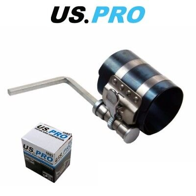 US PRO 53-125mm Engine Piston Ring Compressor Adjustable Ratchet Type 5583