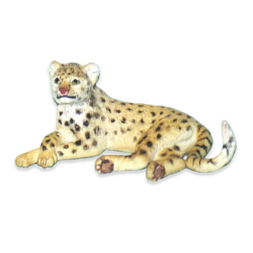 AAA 96562LYG Cheetah Lying Wild Animal Toy Model Figurine Replica - NIP
