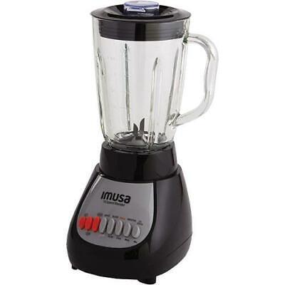 IMUSA GAU-80313B 10-Speed Blender With Glass Jar