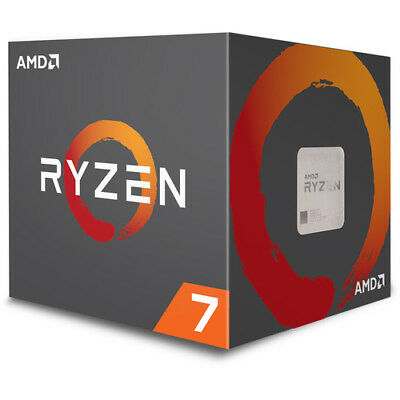 NEW!  AMD RYZEN 7 1700 8-Core Processor 3.0~3.7GHz AM4 with Wraith Spire Cooler