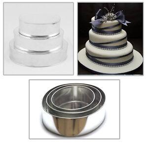Tier Oval Wedding Cake