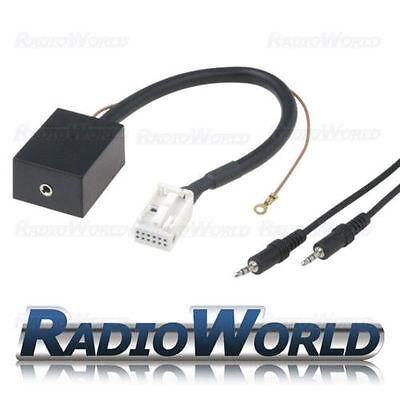 VOLKSWAGEN EOS, Golf MK5, Passat, Polo MP3 iPod Aux Input Adaptor CTVVGX004