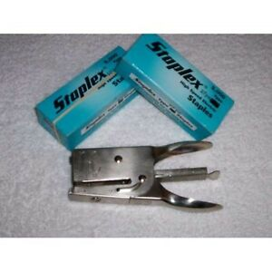 Box of 5000 Neva Clog DJ-340 Staples, Fit J-30, Others NIB Stapler NOT Included