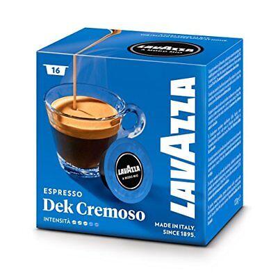 (Lavazza Dek Cremosamente Decaffeinated Coffee Pod Capsules - Pack of 16)