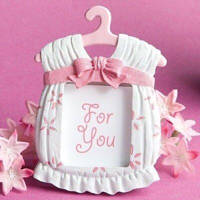- 96 Cute Baby Themed Pink Jumper Photo Frame Baby Shower Birthday Party Favors
