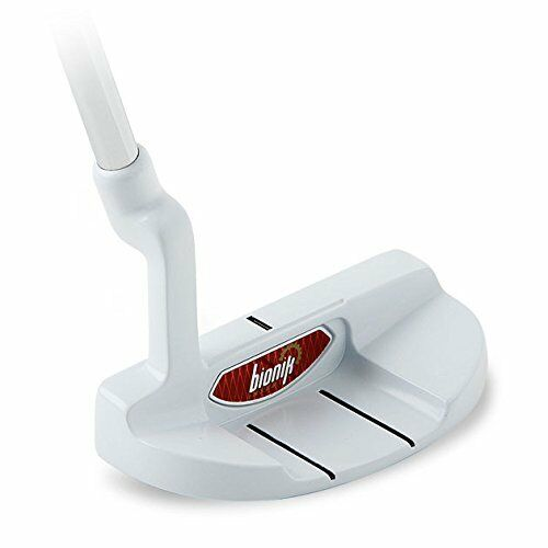 Bionik 105 White Golf Putter Right Handed Semi Mallet Style
