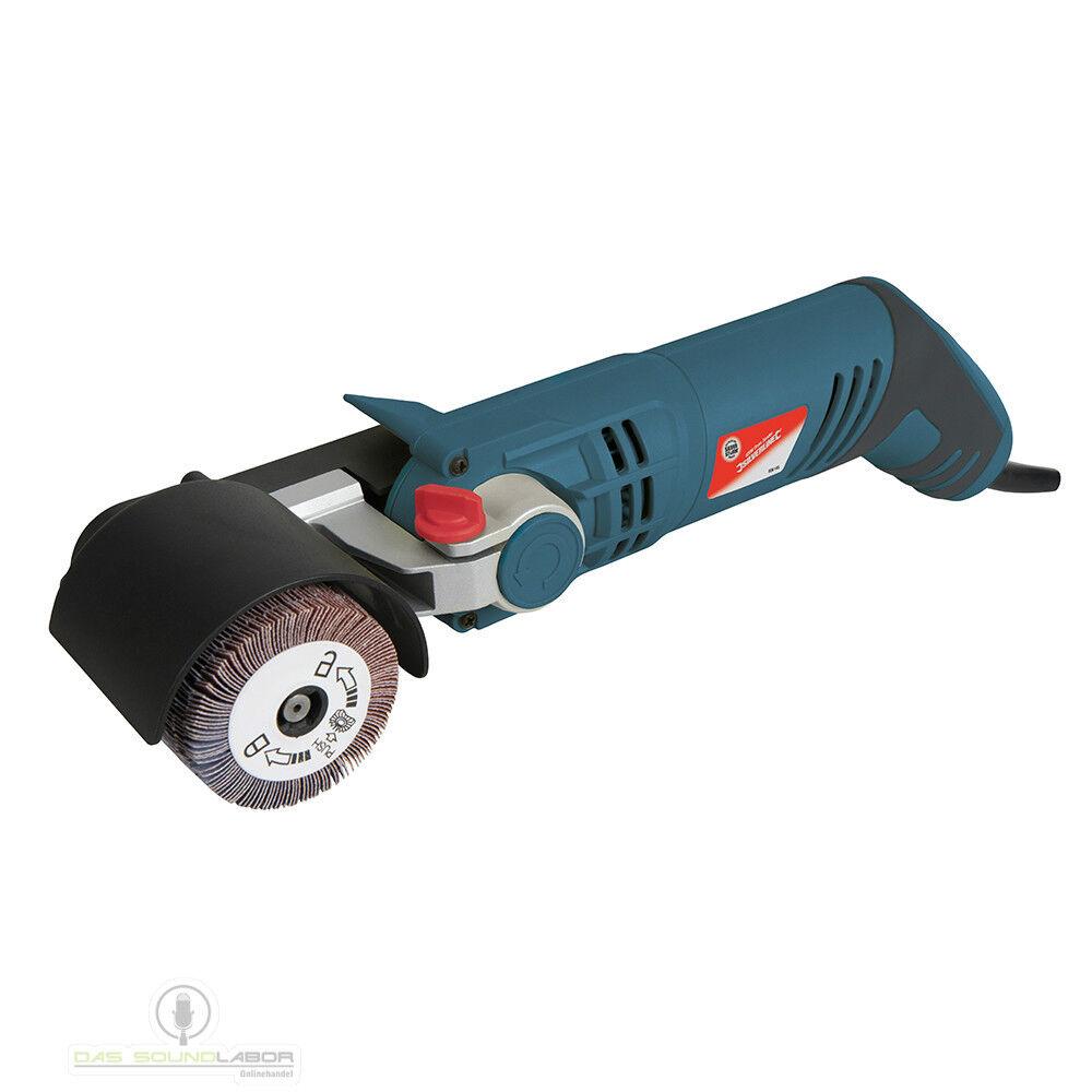 Schleifroller Satiniermaschine Schleifmaschine Elektroschleifer 420W 2xRolle NEU