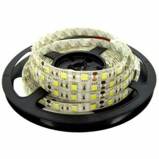 1M LED Strip 5050 Warm White, White, Red, Blue, Green or Yellow Riverwood Canterbury Area Preview