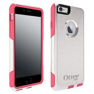 the latest b8276 163f3 OtterBox Commuter Case for iPhone 6 6s Neon Rose White Pink for sale ...