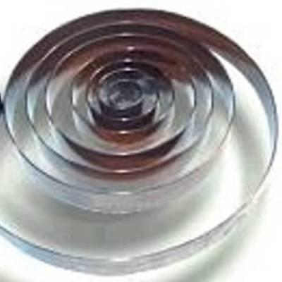 Zugfeder, Feder für Großuhren 16 mm breit