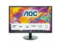 Great 23.6 Inch LCD Monitor, almost new, used for a day!