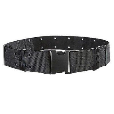 Police Security Tactical Combat Gear Black Utility Nylon Duty Belt Swat Black