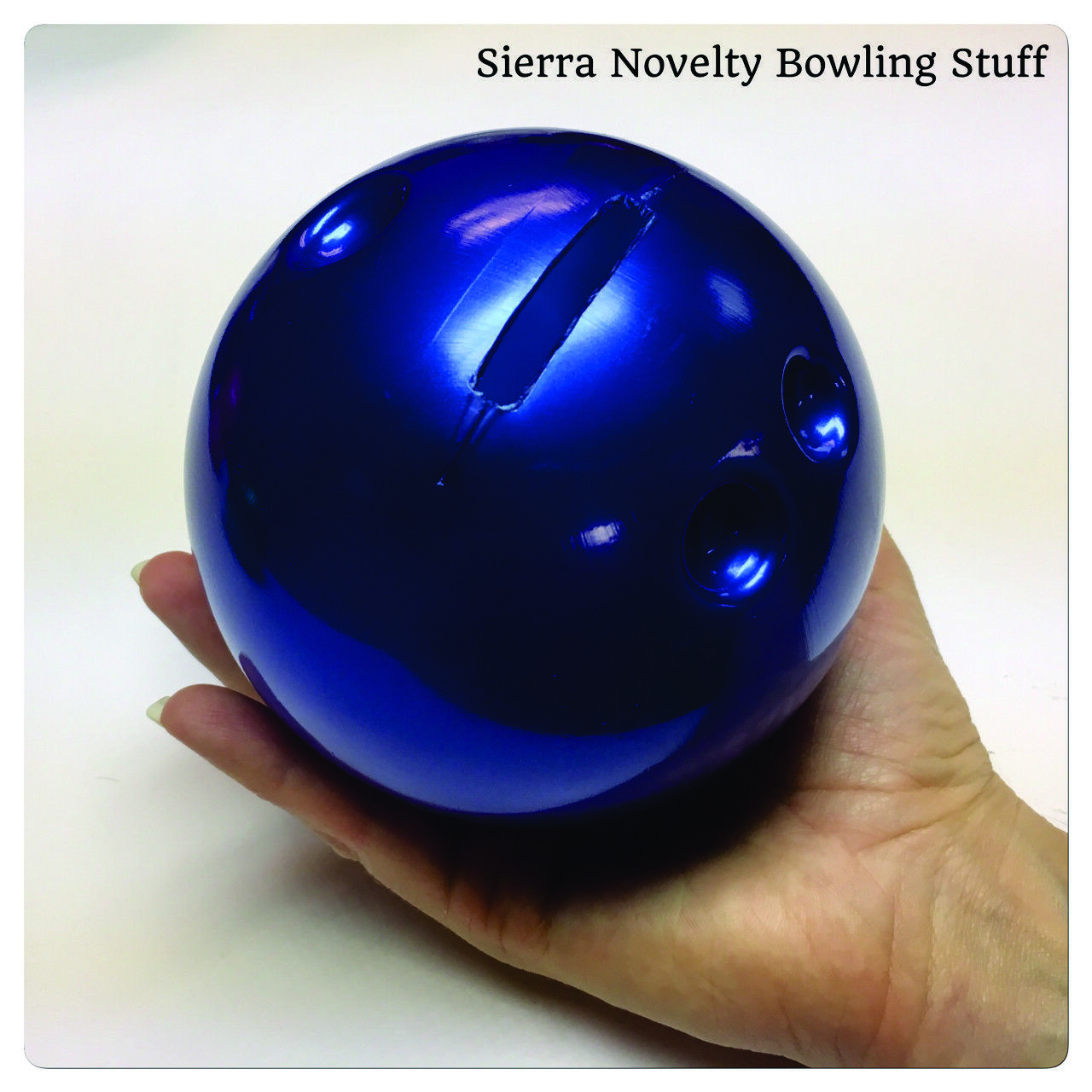 Small Bowling Ball Bank - Bowling Party Favor - Bowling Gift - Free Shipping