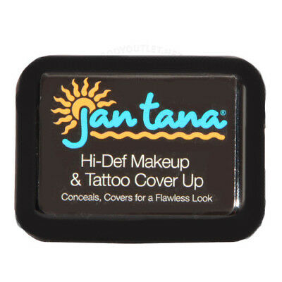 Jan Tana Hi-Def Water Based Makeup / Tattoo Cover Up Cream, 11g CONCEALS (Hi Def Makeup)