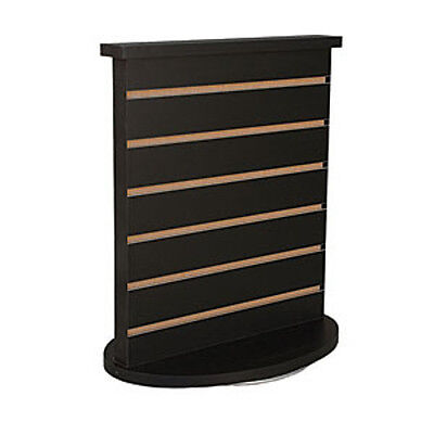 Slatwall Countertop Spinner Display In Black 18 W X 12 D X 21-12 H Inches