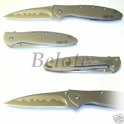 Kershaw Ken Onion Leek Composite Blade Knife 1660CB NEW ()