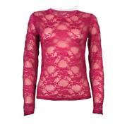 Ladies Pink Check Shirt