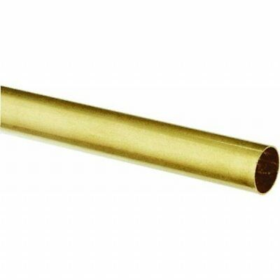 Ks Metal Round Tube 14 D X 12 L Brass Carded Pack Of 1