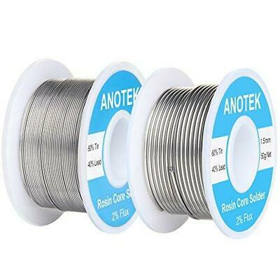 6040 Rosin Core Solder Wire 0.6mm 1.5mm Tin Lead For Stained Glass Electronic