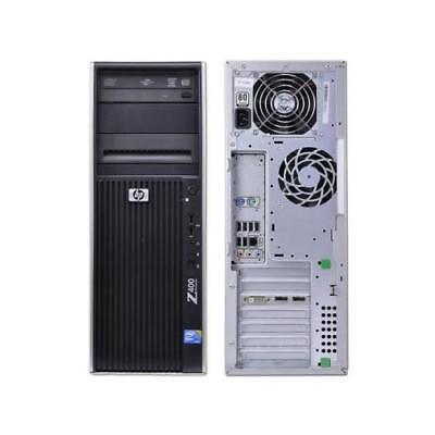 HP Z400 PC Intel Xeon 12GB RAM 120GB SSD