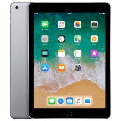 Apple iPad 9.7 (2018) 32GB WiFi/WLAN space-grey IOS Tablet PC ohne Vertrag
