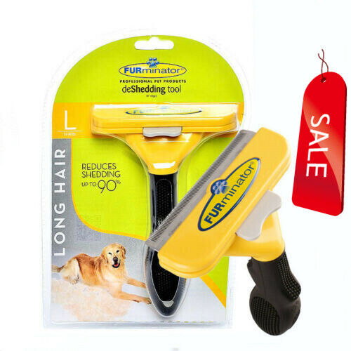 New!DeShedding Tool for Large (51-90 Lbs) Dogs with Long Hair,Fast Delivery