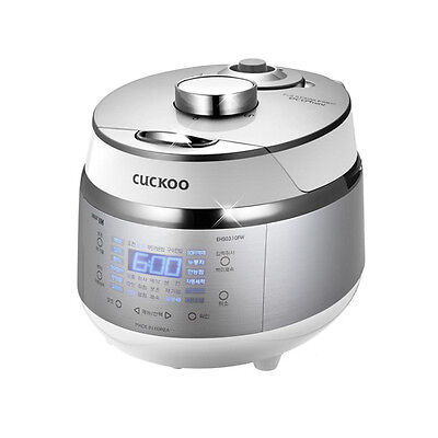 CUCKOO CRP-EHS0310FW IH Electric Pressure Cooker 3 Cups English Free Express