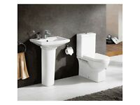 Basin and Toilet Suite for £179