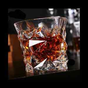 Set of 2 Whiskey Glasses Tumblers Unique Drinking Gift Birthday Christmas