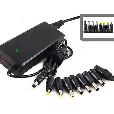 8 IN 1 AC DC POWER CHARGER ADAPTER TIPS FOR ACER ASUS HP LAPTOP NOTEBOOK FADDISH ()