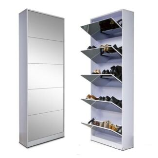 New stylish 5 drawers shoe cabinet with mirror Alexandria Inner Sydney Preview