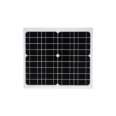 Solarnara Mono Solar Panel 15W 15Watts For 12 Volt Battery Charning