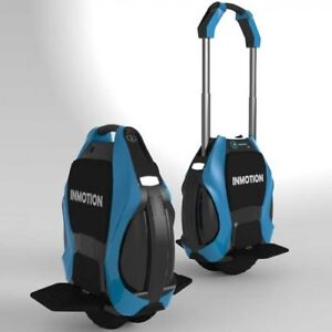 Inmotion V3 Electric Unicycle/Wheeled Scooter (Blue Colour)