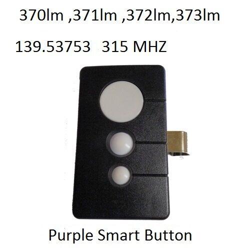 Sears Craftsman Garage Door Opener Remote Control Part 13953753 Ebay