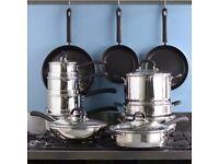 ProCook Gourmet Steel Cookware Set 10 Piece