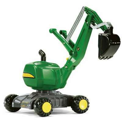 Rolly Toys John Deere Ride On Construction Excavator Shovel Kids Toy (Used)