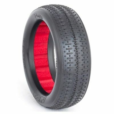 2wd Front Tire (AKA Racing 13221SR 1/10 Buggy 2WD Front EVO Pinstripe Soft Tire Set (2) )