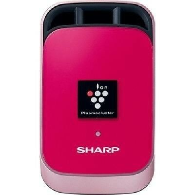 SHARP IG-FC1-P Pink Plasma Cluster Ion Generator Car Air Conditioner w/tracking#