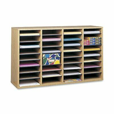 Safco 36 Compartment Adjustable Shelves Literature Organizer - 24 Height X