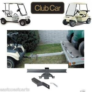 Club Car DS Golf Cart TRAILER HITCH with 2