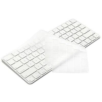 """TPU Keyboard Cover for 24"""" iMac Magic Keyboard A2449 A2450 TPU - Transparent"""