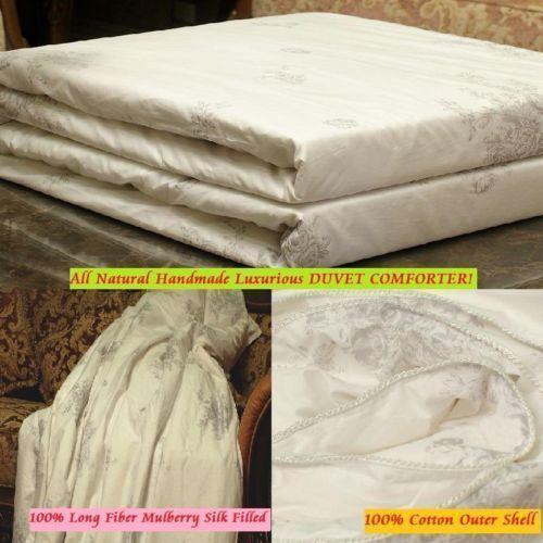 Silk Filled Duvet Bedding Ebay
